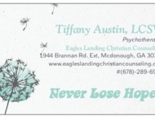 Tiffany Austin, LCSW @ Eagle's Landing Christian Counseling