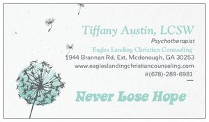 Tiff business card for RR